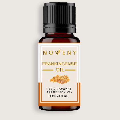 Noveny Frankincense Essential Oil, 100% Pure & Natural, Therapeutic Grade, For Skin care, Hair care, Heals wounds, Anti-aging & Body massage