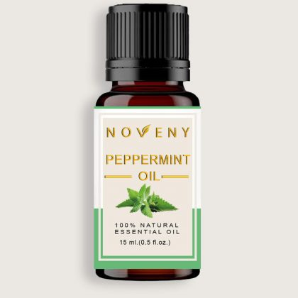 Noveny Peppermint Essential Oil 100% Pure & Natural, Therapeutic Grade For Skin nourishment, Hair Care, Insect repellent, Anti-aging & Aroma Diffuser