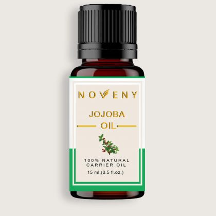 Noveny Jojoba Cold-pressed Oil, 100% Pure & Natural For Skin, Hair, Face, use before shaving, Anti-aging & Aroma Diffuser