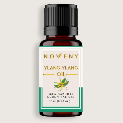 Noveny Ylang Ylang Essential Oil, 100% Pure & Natural, Therapeutic Grade, For Skin Care, Hair Growth, Enhances sensuality, Relaxing Bath & Aroma Diifuser